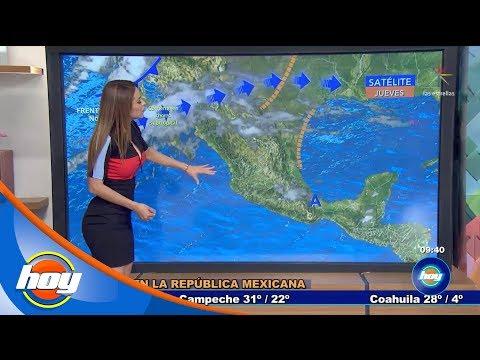 Temperaturas en la República Mexicana | Aclimátate con Yanet García | Hoy