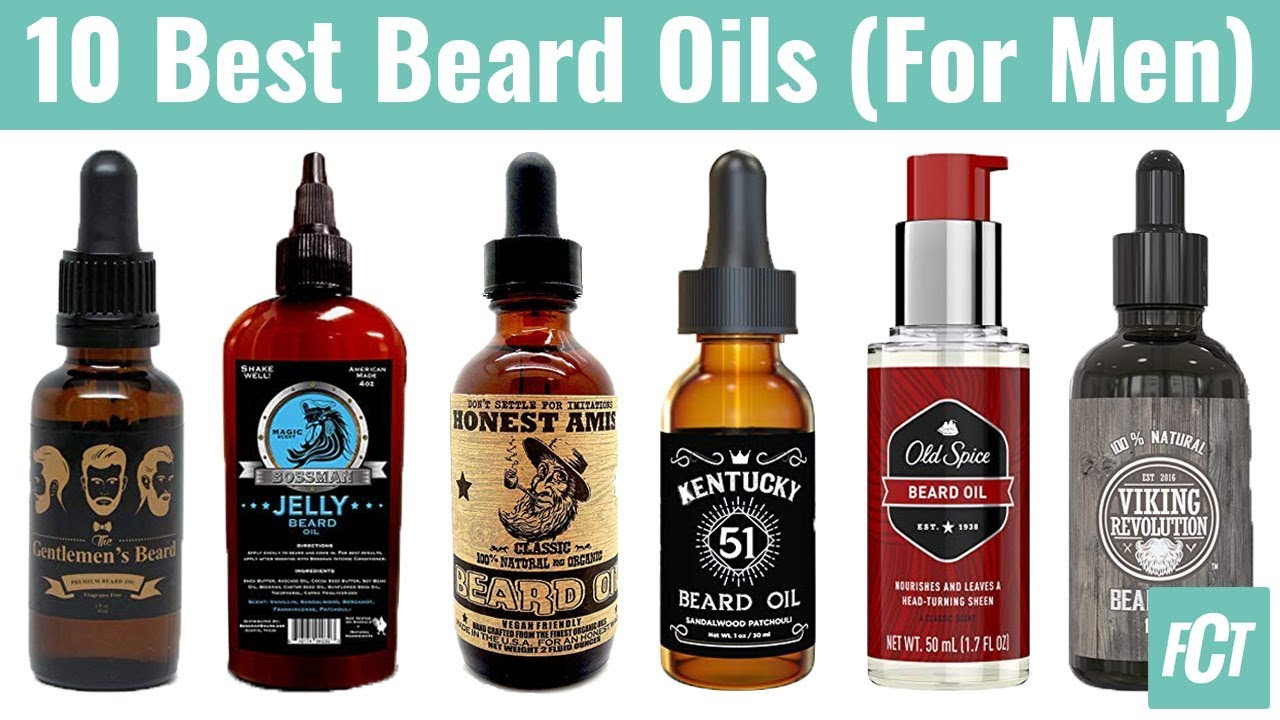 10 Best Beard Oils | Best Beard Conditioner, Softener and Moisturizer |  Picked the Best-Selling Ones