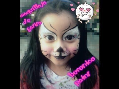 Maquillaje de gatita youtube - Disfraces de gatitas para nina ...