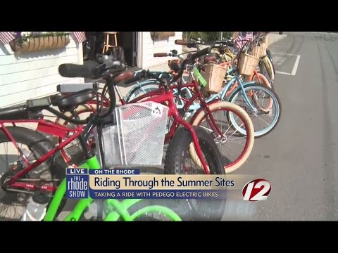 Taking a ride with Pedego Electric Bikes