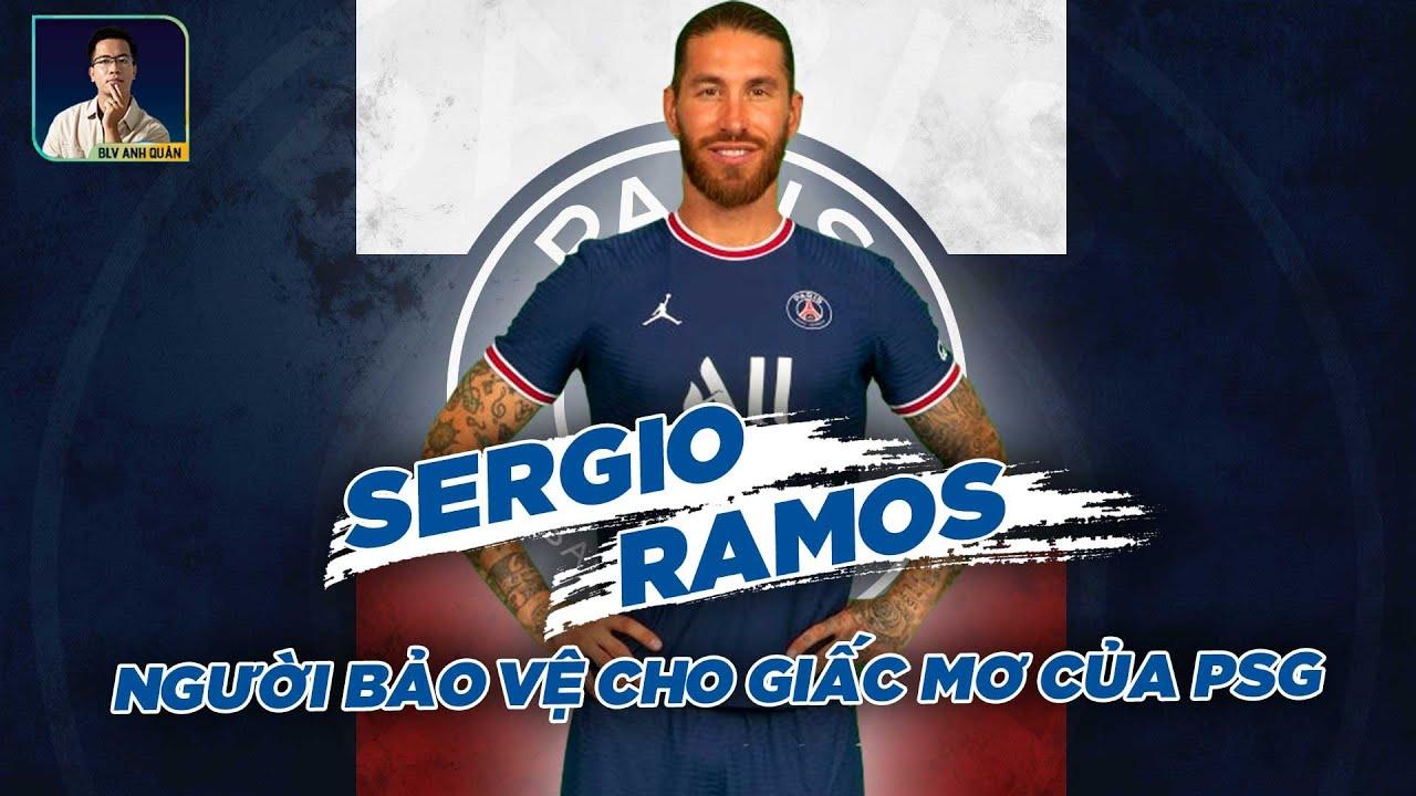 SERGIO RAMOS - MIẾNG BẢO VỆ ỐNG ĐỒNG CHO GIẤC MƠ CỦA PSG #shorts