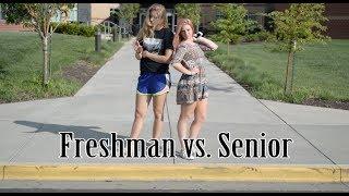 English Satire Project: Freshmen vs. Seniors
