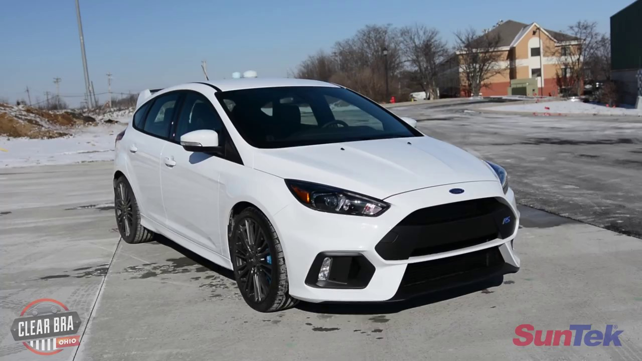 3M Scotchgard Paint Protection Film Pro Series 2016 2017 2018 Ford Focus RS