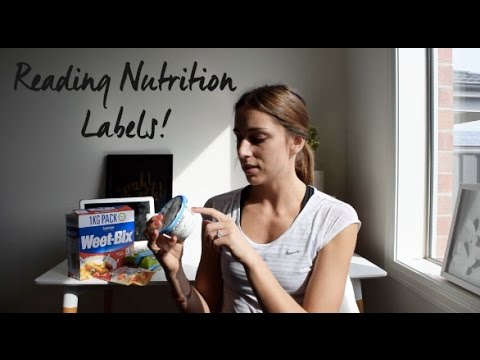 Counting Calories + Reading Nutritional Labels!