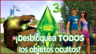 ¡Desbloquea TODOS los objetos ocultos! - Los Sims 3