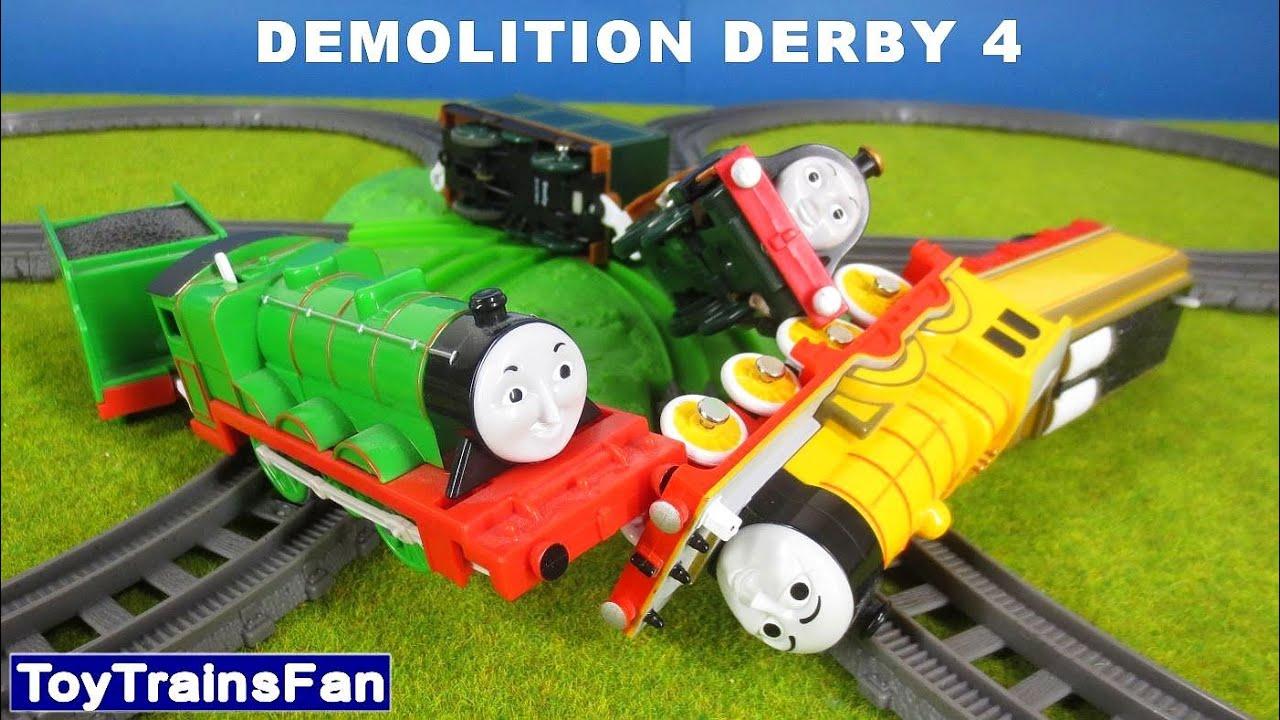 Demolition Derby, Molly Henry Emily - Thomas & Friends accidents  Tomek i  Przyjaciele zderzenia