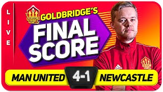 RONALDO GOAT! Manchester United 4-1 NEWCASTLEMatch Reaction