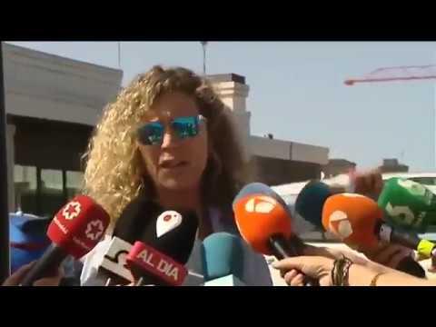 Diana López-Pinel y Valeria Quer se enzarzan frente a los juzgados