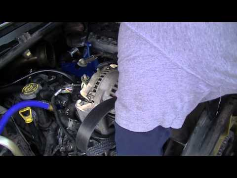 HowTo: Alternator and Belt Installation in Ford 2005 6.0L Powerstroke Diesel