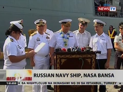 Russian Navy ship, nasa bansa