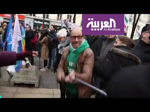 تفاعلكم | موالون لحزب الله وحماس يعتدون على متظاهرين إيرانيين في باريس  - 19:59-2020 / 1 / 26