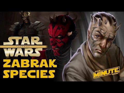 Zabrak Species Explained - Star Wars Explained