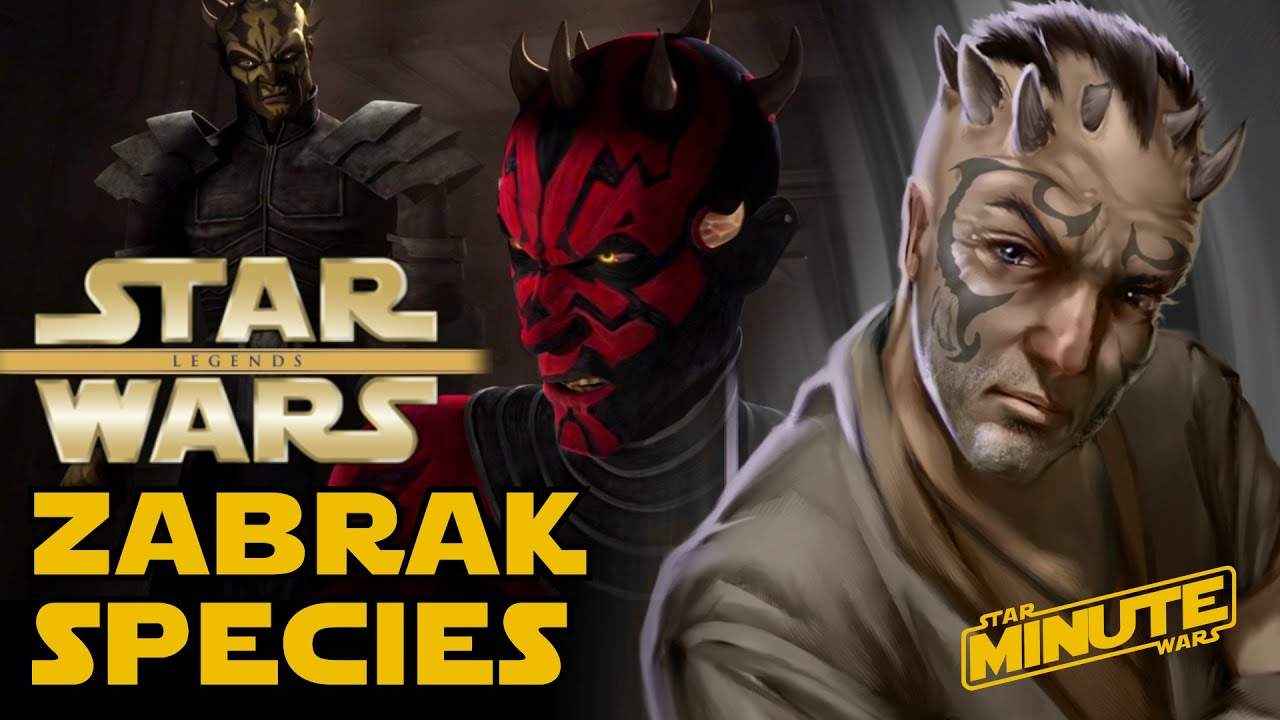 Zabrak Species Explained Star Wars Explained Youtube
