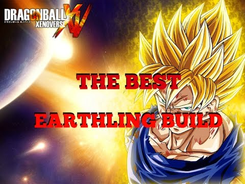 Dragon Ball Xenoverse- The Best Earthling Melee Build!!