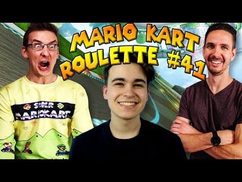 Mario Kart Roulette #41: Would You Rather #1! (Featuring Seamus Gorman)