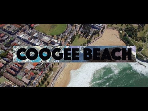 COOGEE BEACH SYDNEY AUSTRALIA - 4K DRONE VIDEO!