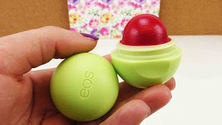 EOS Lipbalm färben | Roten EOS selber machen | DIY mit EOS | super einfache Methode