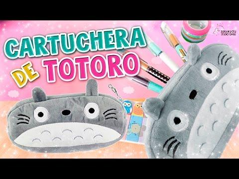 DIY KAWAII ☆ HAZ TU CARTUCHERA DE TOTORO ☆ REGRESO A CLASES (FÁCIL ...