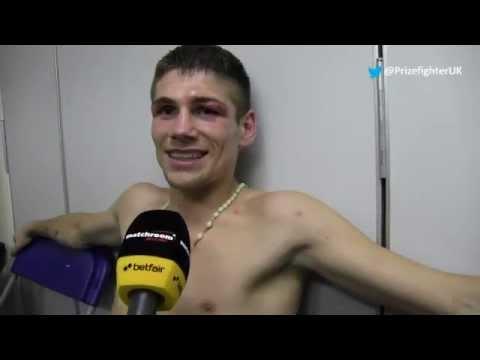 Chris Jenkins post fight interview