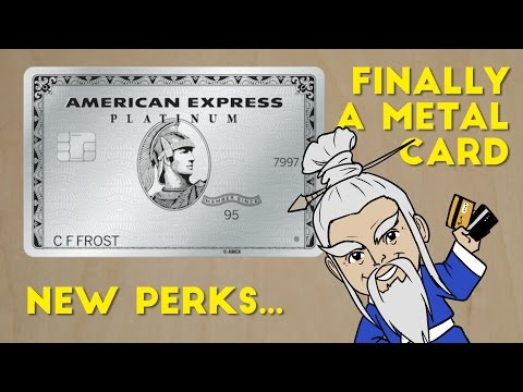 Amex Platinum: Metal Card, New Perks Announced