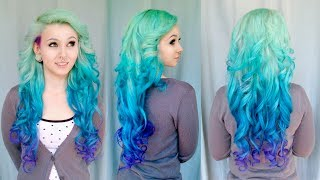 Diy Mermaid Ombre Haare - Tutorial Von Cira Las Vegas