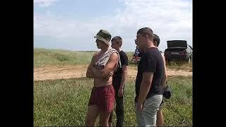 Архив 18 июля 2010 Соревнования по летней рыбалке на реке Аксай под хутором Полёбин