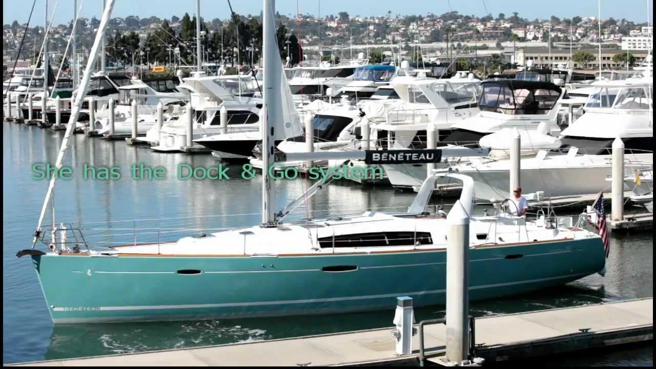 Beneteau Oceanis 50 In Turquoise Sailing In San Diego