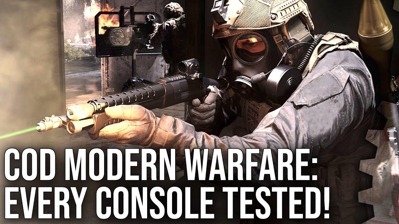 Call of Duty Modern Warfare  comparatif technique Digital