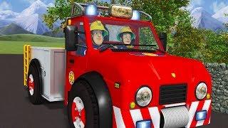 Пожарный Сэм на русском | Задача транспортного средства 🚒Эпизоды Компиляция 🔥мультфильм
