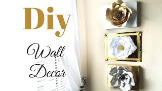 Diy Wall Mirror and Paper Craft Decor Simple and Inexpensive