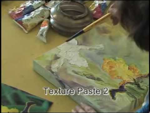 DVD4: Acrylic paste - how to create exciting effects with this amazing medium