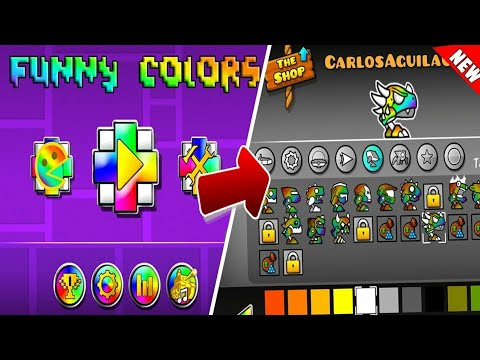 TOP 5 TEXTURE PACK ON ANDROID !!!!   GEOMETRY DASH