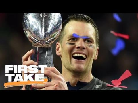 Tom Brady Has Surpassed Joe Montana As The G.O.A.T. | First Take | February 6, 2017