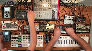 Volca Deep Techno & Dub House Jam (2019-06-15)