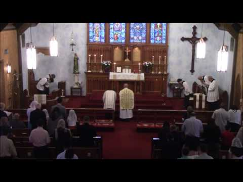 Holy Mass - The Chair of Saint Peter - February 19th, 2017