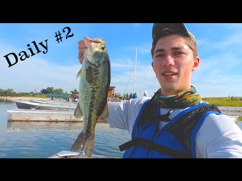 Bass Daily #2: Fishing With Co-Founder Of Mystery Tackle Box (Vlog)