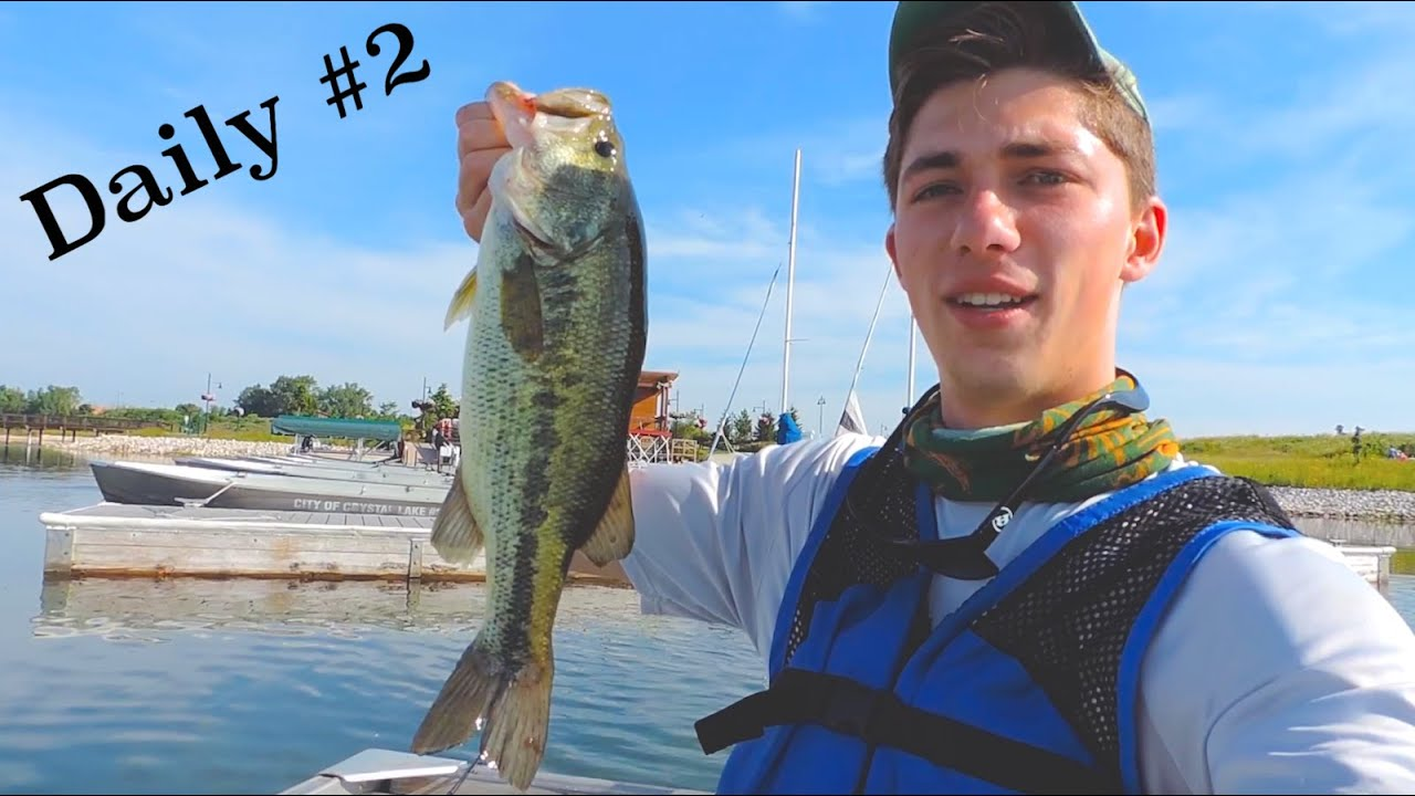 Bass daily 2 fishing with co founder of mystery tackle for Bass fishing tackle box