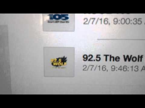 "KWOF: ""92.5 The Wolf"" Broomfield, CO 11am MT TOTH ID--02/07/16"