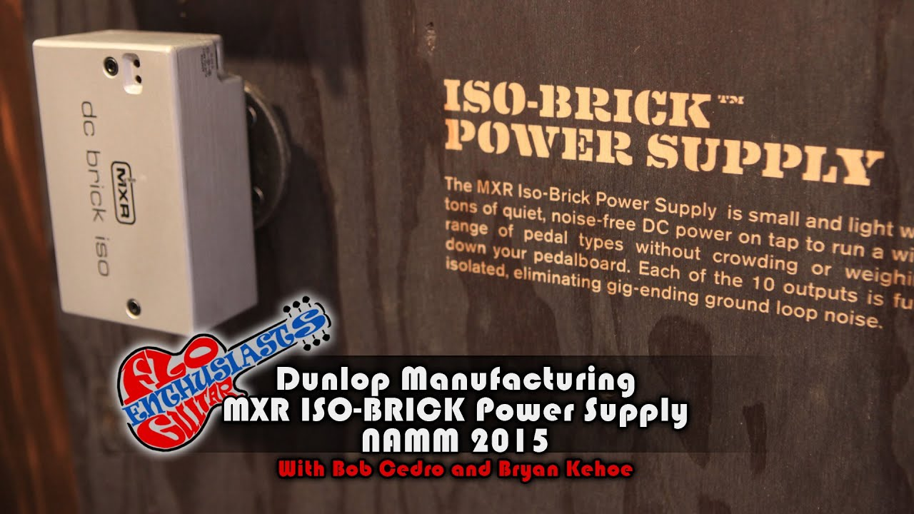 namm 2015 mxr iso brick power supply demo with bob cedro and bryan kehoe youtube. Black Bedroom Furniture Sets. Home Design Ideas