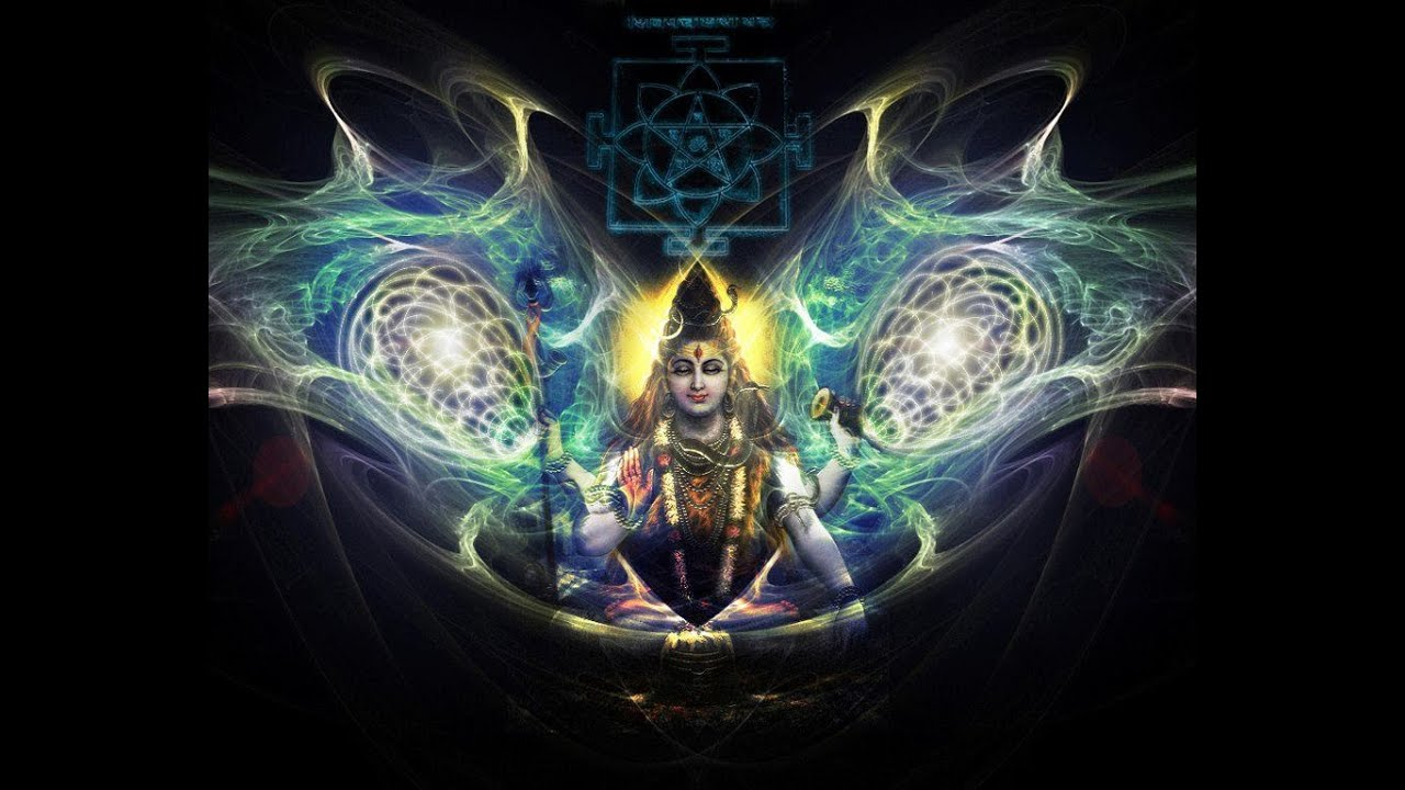 shiva psychedelic wallpaper