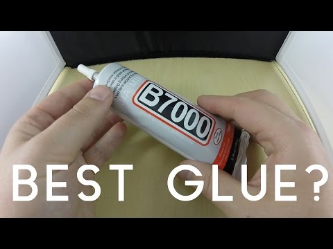IS THIS THE BEST GLUE IN THE WORLD? B7000 Adhesive Video - YouTube