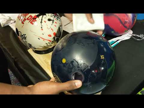 How to clean scuff marks off of a bowling ball.