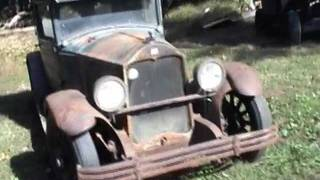 1928 Buick Country Club Coupe 1st Start in 50 Years