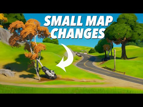 SMALL Map Changes In Ch.2 Season 2! (FORTNITE)