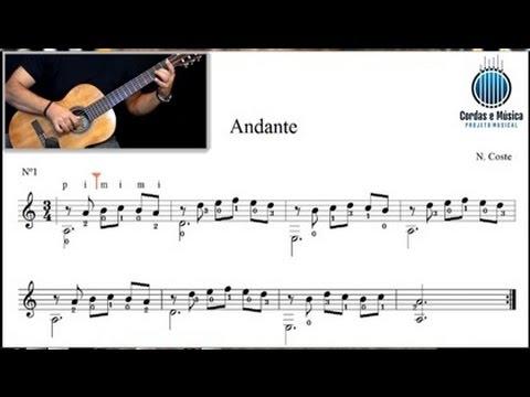 Violão Clássico (AULA GRATUITA) Como estudar uma peça com a partitura (1ª Parte) - Cordas e Música