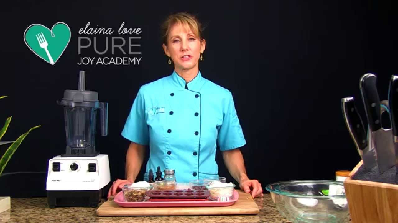 Elaina Love, Raw Low Glycemic Chocolate Clusters - YouTube