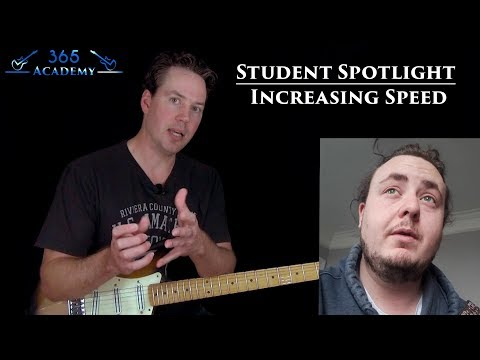 Increasing Speed on the Guitar - GL365 Student Spotlight
