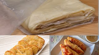 পফ পসটর ড  How to Make Puff Pastry Dough  Puff Pastry Sheet Recipe  Easy Puff Pastry Dough