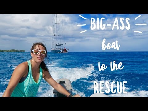 Big-Ass Boat to the Rescue - Fakarava - Chase the Story 49