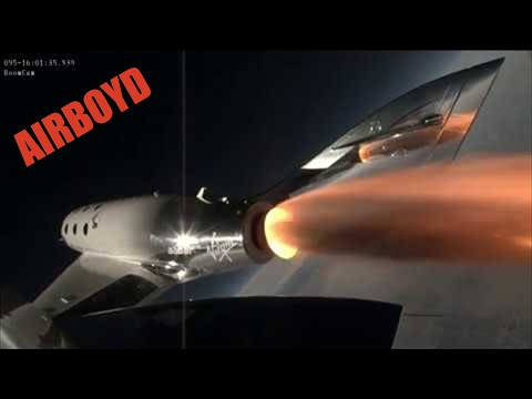 VSS Unity First Powered Flight - Virgin Galactic